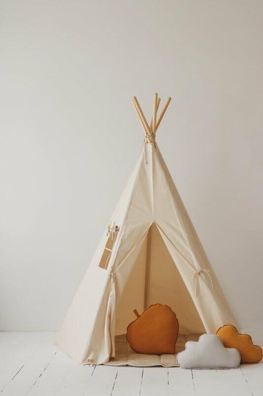 Tipi Tent 'Classic' Beige-Natural'