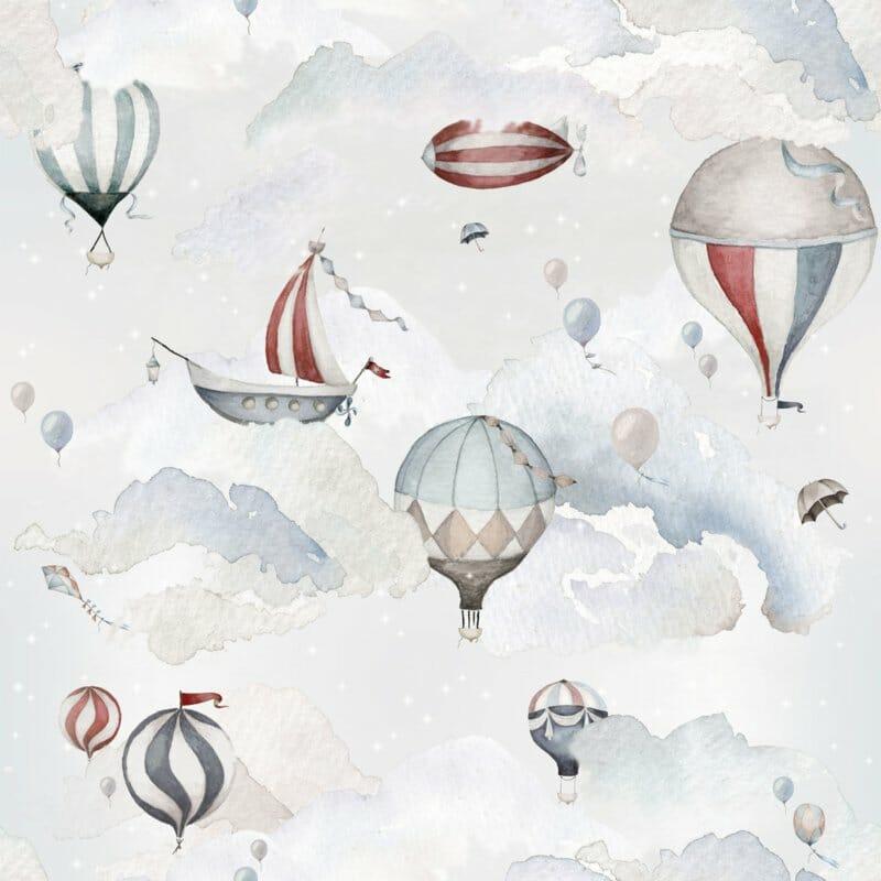 Balloons Adventure ' Behang