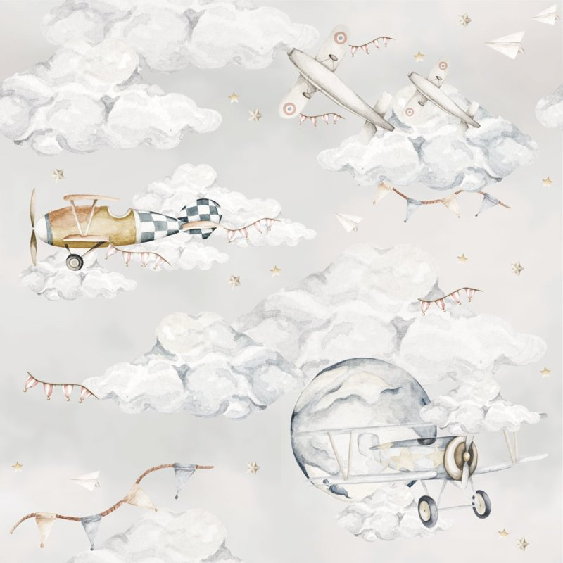 Magic Planes ' Behang