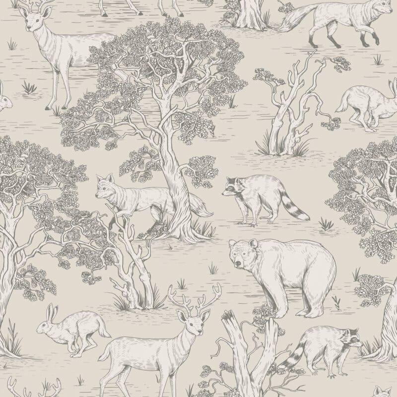 Animals Natural  ' Behang