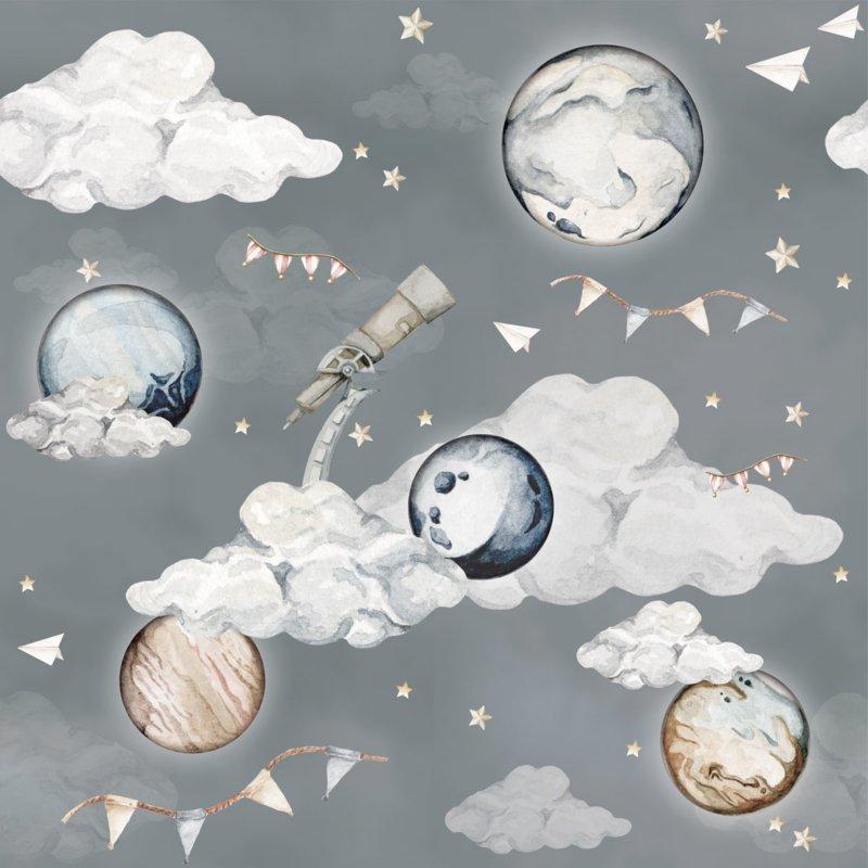 Magic Planets ' Behang
