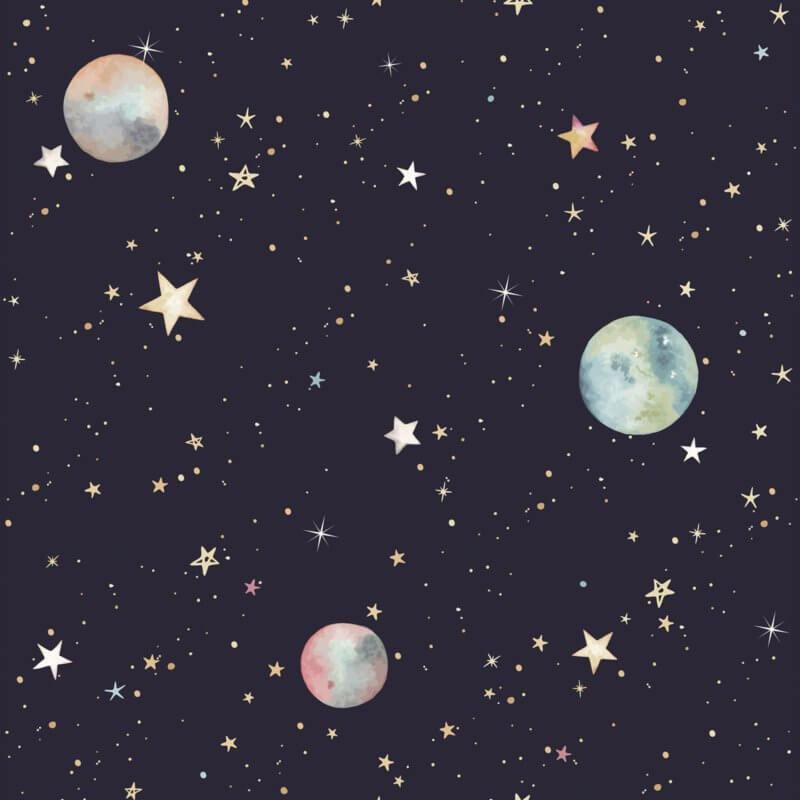 Cosmos  ' Behang