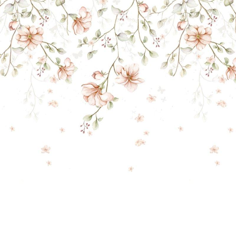 Paradise Garden Pastel  ' Behang