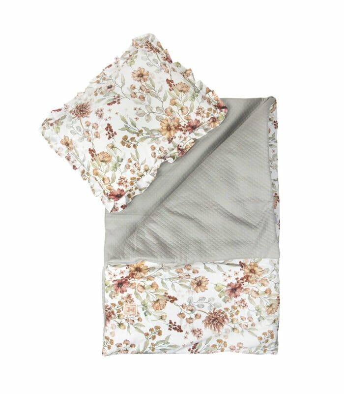 Coco Flower - quilt met kussen -75 x 100cm, 30 x 40cm