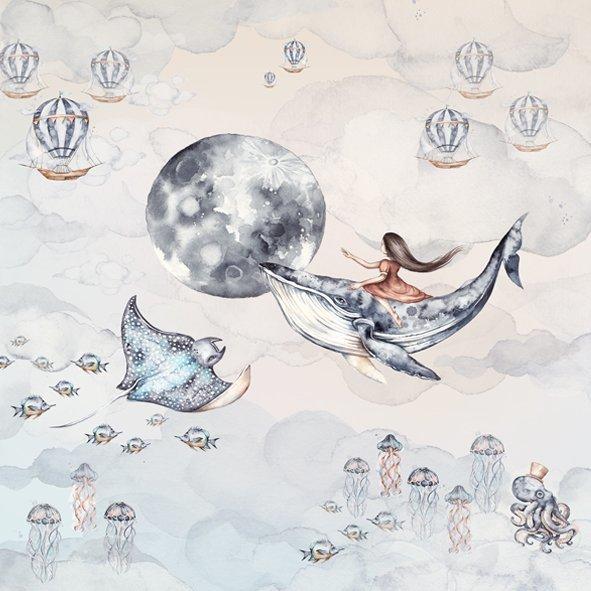 Ocean Deep- Behang