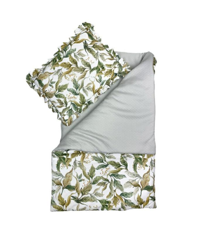 Amazonia - quilt met kussen -75 x 100cm, 30 x 40cm