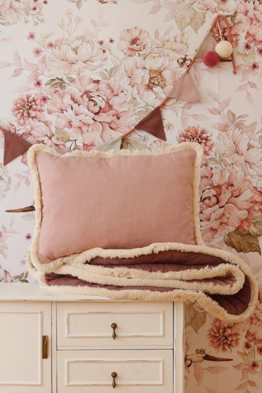 """Dreamy Pink & Pompoms ""  Garland"