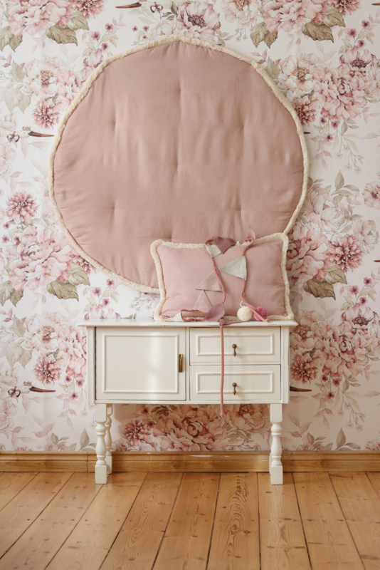 """"""" Cozy & Soft"""" (Speel)kleed Pink & Peony- Tweezijdig"""