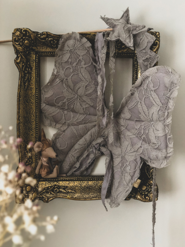 Fairy Set- Vintage Grey
