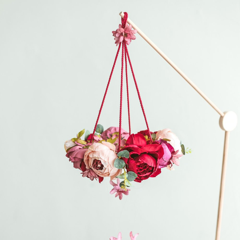Flower Mobile Peonies