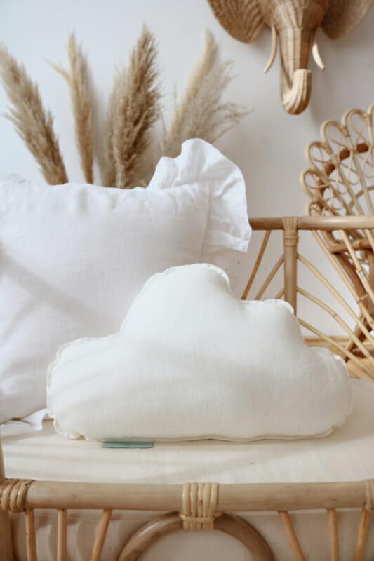 Sierkussen wolk, White-MoiMili