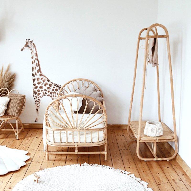 Wandsticker Giraffe Savanna Adventure