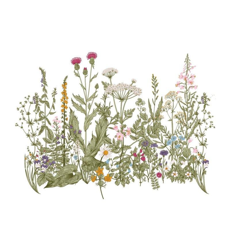 Wandsticker Colour Meadow