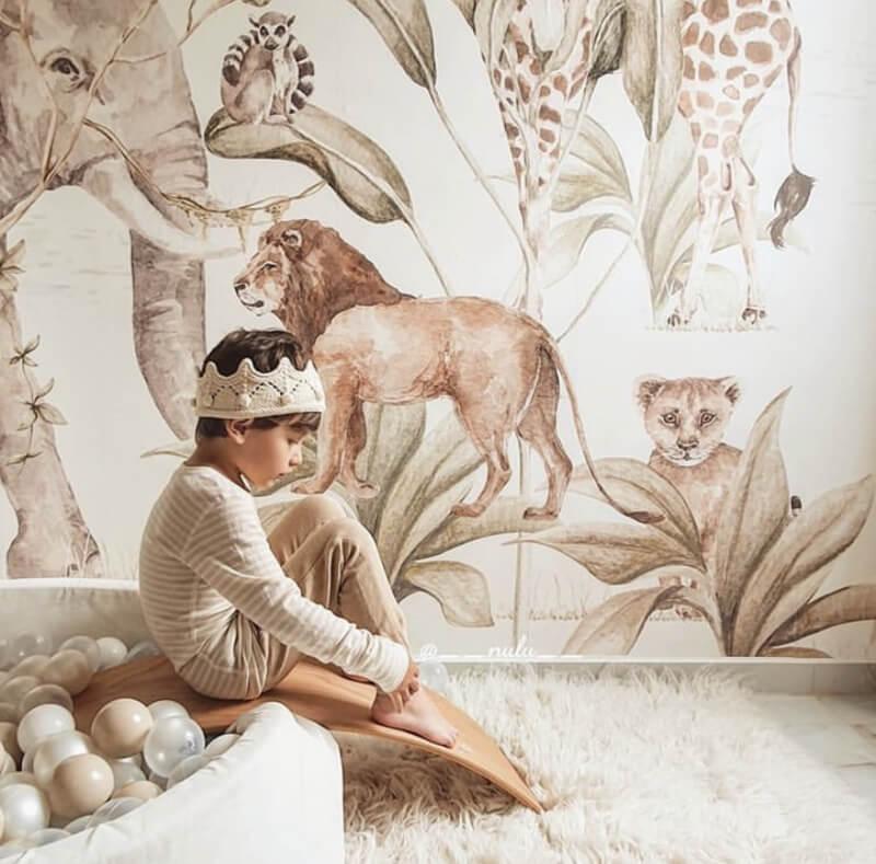 savanna behang 3